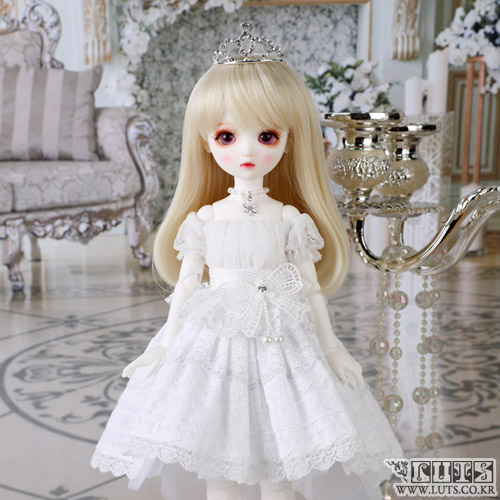 娃娃衣服 HDF31 Pure snow set