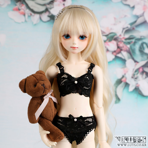 娃娃衣服 KDF Underwear set Black