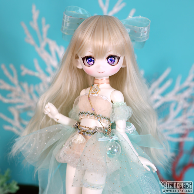 娃娃衣服 HDF31 Jellyfish Bubble SET Mint Pre-order