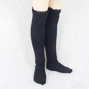 娃娃衣服 KDF KNEE SOCKS For Kid Black
