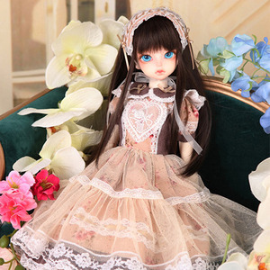 娃娃衣服 KDF Girlish Flower set BEIGE