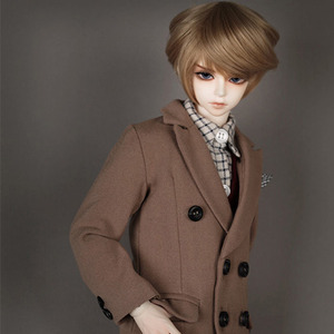 娃娃衣服 MDF Double LONG COATBeige