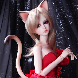 娃娃 Senior Delf Kitty Ears and Tail set Limited