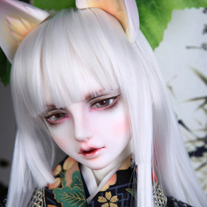 娃娃 Senior65 Delf BLACK YOUKO ver Limited Free fox ears