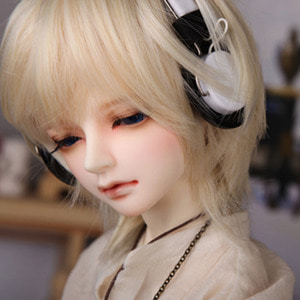 娃娃饰品 Headphone DF SSDF White