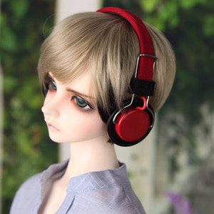 娃娃饰品 Headphone DF SSDF Red
