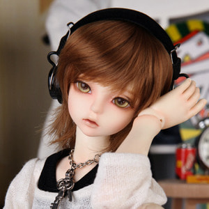娃娃饰品 Headphone HDF KDF Black