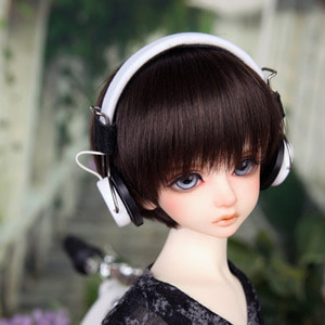 娃娃饰品 Headphone HDF KDF White