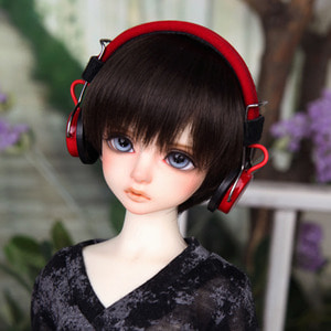 娃娃饰品 Headphone HDF KDF Red
