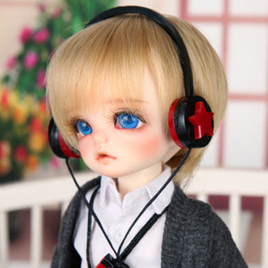 娃娃饰品 Headphone HDF Red Star