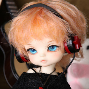 娃娃饰品 Headphone TDF Red Star