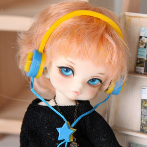 娃娃饰品 Headphone TDF Yellow Star