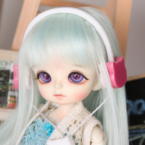娃娃饰品 Headphone TDF Pink Cat