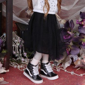 娃娃衣服 KDF Sha Long Skirt Black