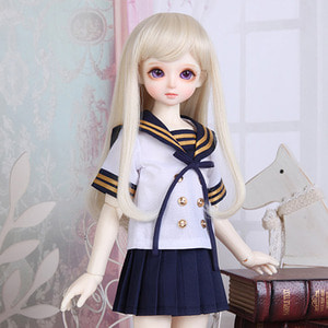 娃娃衣服 KDF School Look Set Navy