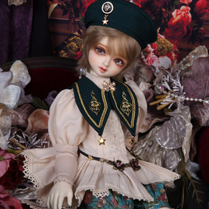 娃娃衣服 KDF Antique Cape Set