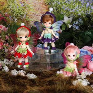 娃娃 Tiny Delf Fairy of Flower ver Limited FULL PACKAGE