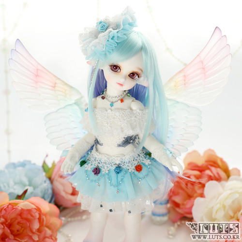 娃娃 Honey Delf Pegasus Skyblue ver Full Package Limited
