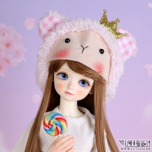 娃娃饰品 KDF Animal hat Pink crown