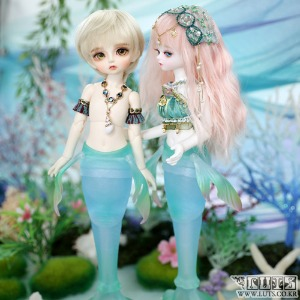 娃娃 Honey31 Delf MERMAID MERMAN ver Blue Limited