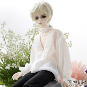 娃娃衣服 MDF Luceo blouse White
