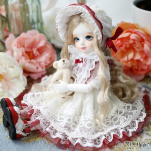 娃娃衣服 HDF Rose wine Set