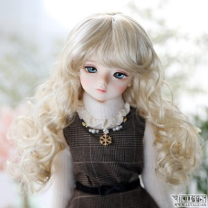 娃娃假发 KWW 506 wheat Blond