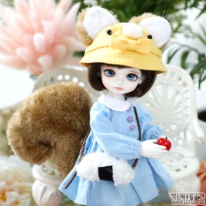 娃娃衣服 HDF Kindergarten in the Forest set Blue