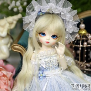 娃娃 LUTS 19th Anniv Honey Delf Happiness on 10dollars Blue ver Limited