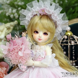 娃娃 LUTS 19th Anniv Honey Delf Happiness on 10dollars Pink ver Limited
