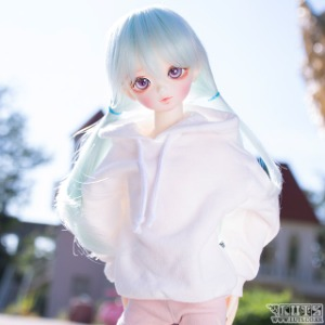 娃娃衣服 KDF MAKIE hood White