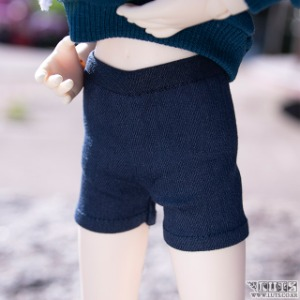娃娃衣服 KDF Banding Short Pants Navy