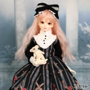 娃娃衣服 KDF Rose Cross set