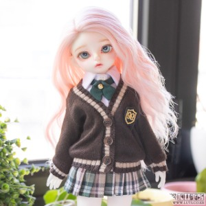 HDF NINE School Girl set (Brown)