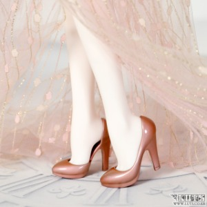 娃娃 MDF HIGH HEELS Rose Gold Painting Limited