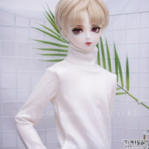 娃娃衣服 SDF65 Simple turtleneck Ivory