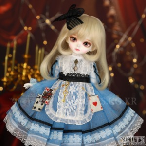 娃娃衣服 HDF Wonderland Blue set