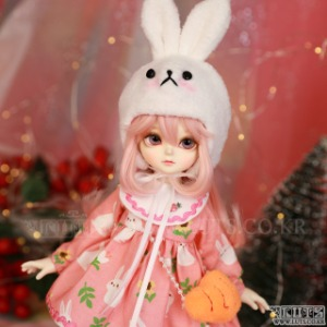 娃娃衣服 HDF Hi Rabbit set (Pink)