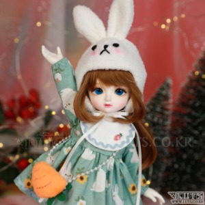 娃娃衣服 HDF Hi Rabbit set (Mint)