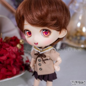 娃娃衣服 OB11 Summer School Look Set Brown