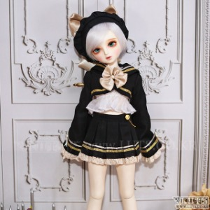 娃娃衣服 KDF Miracle Sailor Set (Black)