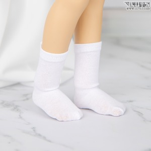 娃娃衣服 KDF Crew Socks (White)