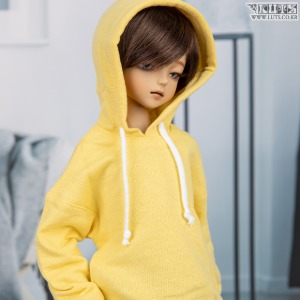 娃娃衣服 KDF Makie Hoodie Shirts(Lemon)