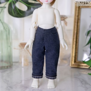 娃娃衣服 HDF Roll-up Pants